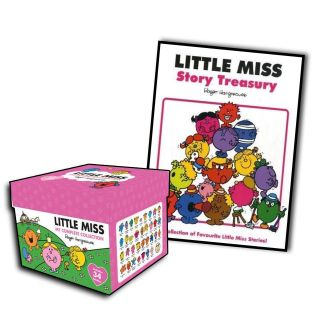 Books Box Gift Set Plus Free Story Treasury by Roger Hargreaves
