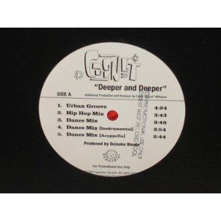 : CAGNET Deeper and Deeper (10 mixes) 12 single NM: Everything Else