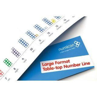 Numicon Large Format Table Top Number Line 9780198487180