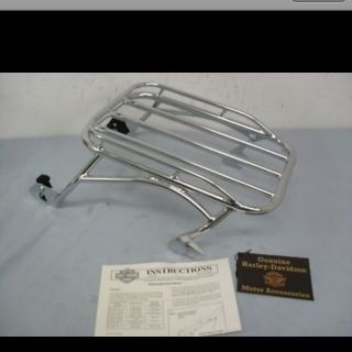 Harley Davidson Detachable Solo Luggage Rack Part 53519 95