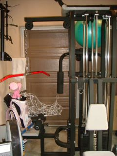 Hoist Commercial Multi Station Home Gym 4 Weight Stacks Local Only