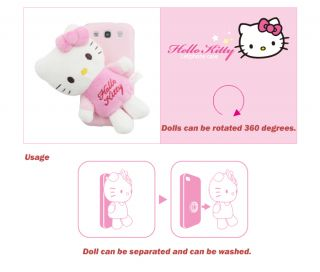Hello Kitty Pink Case for Samsung Galaxy Note N7000 ATT i717 I9220