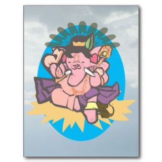 Baby Ganesh or Ganesha Motivational   Postcards