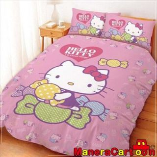 Hello Kitty Double Quilt 59 x 707 8 Candy Pink Sanrio