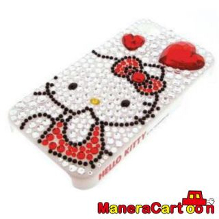 Hello Kitty Jewelry iPhone 4 Case White Sanrio