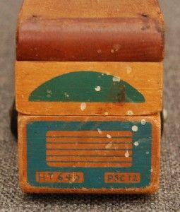 Scarce Vintage Holgate Jack Rabbit 2 piec Passenger Bus