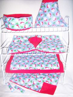 PC Ferret Fun House Christmas Bedding Cage Set Santa Heads