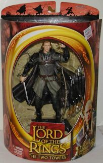 Toy Biz LOTR Helms Deep Legolas Two Towers