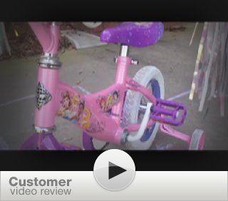 Huffy 12 Inch Girls Disney Princess Bike (Shimmer Pink