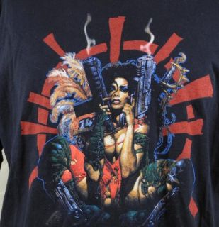 Heavy Metal 2000 Julie Animated Movie Mens T Shirt XL Black Automatic