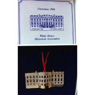 White House Christmas Ornament 1986