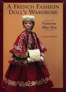 Fashion Doll Wardrobe 1864 1874 Hedrick 56 Vintage Patterns