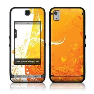Orange Crush Design Protective Skin Decal Sticker for