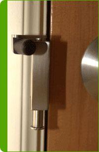 Swivel Latch Home Security Lock Fits on Door Jam Strongest