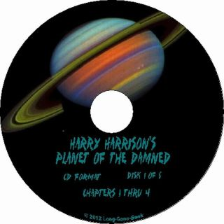 Planet Of The Damned by Harry Harrison audiobook on 6 Audio CDs