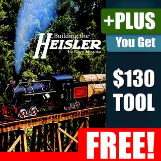 Building Heisler Live Steam Locomotive Model Train