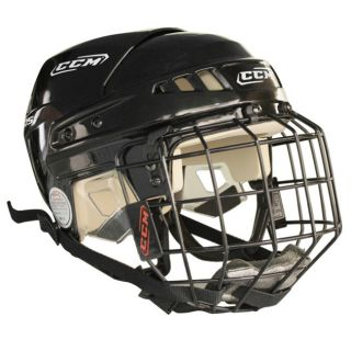 New CCM V05 ice hockey helmet with cage black M medium size combo w
