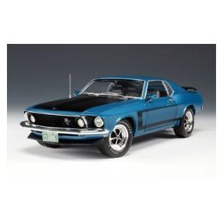 Ford Mustang Boss 302 Acapulco Blue 1/18 Highway 61