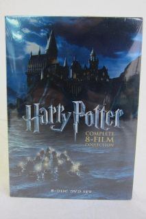 New Harry Potter The Complete 8 Film DVD Set Collection PG13