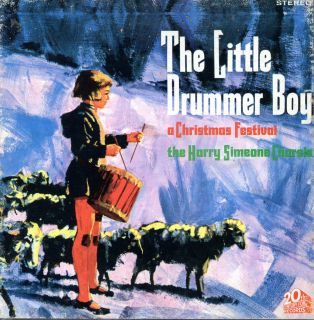 Harry Simeone Chorale Little Drummer Boy 20th Century Fox 7 1 2 IPS