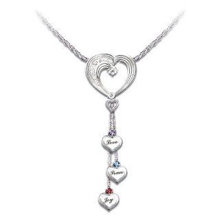 Heartfelt Wishes Sterling Silver Heart Shaped Necklace for