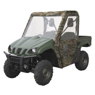 CLASSIC ATV COVERS UTV CAB ENCLOSURE HON CAMO BIG RED