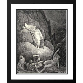 Dore, Gustave 28x34 Framed and Double Matted The Inferno