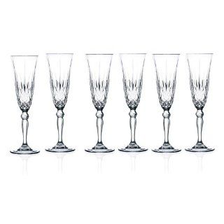RCR Crystal Melodia Collection Champagne Flutes Glass Set