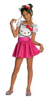 hello kitty tutu girls halloween costume