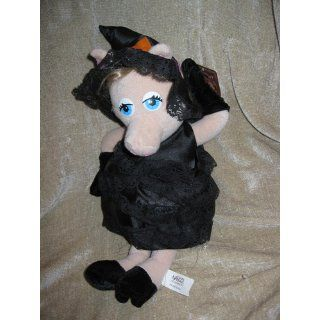 Years Miss Piggy Plush 18 Inch Halloween Witch Doll