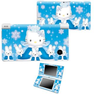 Blue HELLO KITTY Vinyl Decal Skin Sticker for Nintendo DSi NDSi TI107