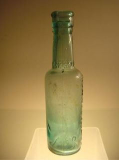 Holbrook Co Antique Worchestershire Sauce Bottle