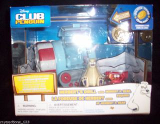 New Disney Club Penguin Herberts Drill Toy Unlock Online