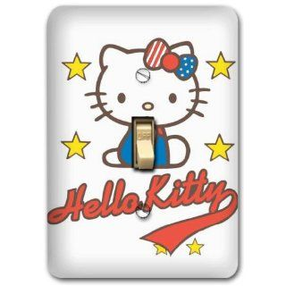 Hello Kitty Metal Light Switch Plate Cover Nursery