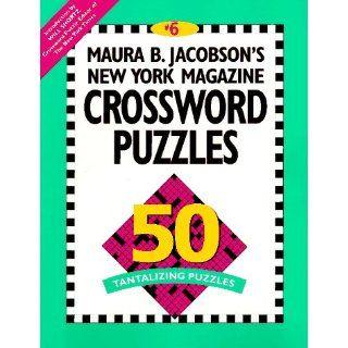 Maura B. Jacobsons New York Magazine Crossword Puzzles Maura B