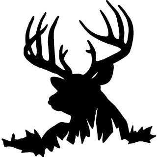 HEAD HUNTING VINYL WALL DECAL HOME DECOR 20 X 20