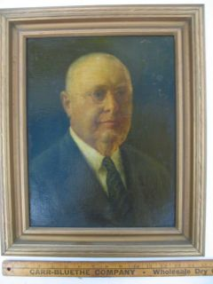 Antique EMIL HERMANN 1946 Painting   Listed Artist in TEXAS and OHIO
