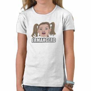 Girls Ermahgerd T Shirt