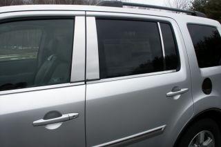 09 13 Honda Pilot Window Sills, SS Truck SUV Chrome Trim, 3M New