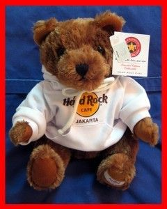 Hard Rock Jakarta Rockin Teddy Bear Herrington Cute