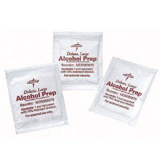 Alcohol Prep Pads   Medium 1 1/4 x 2 1/2, 200/box