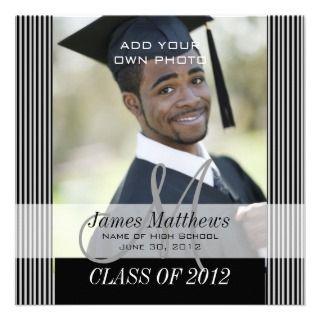 Class of 2012 High School Graduation Announcement