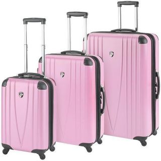 Heys USA 4WD 26 Expandable Spinner Luggage Case Pink