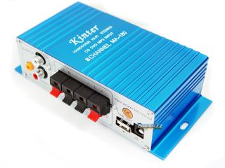 Mini USB Hi Fi Stereo Home Power Amplifier for Car Motorcycle Boat