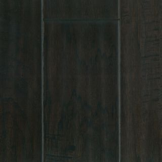 Hand Scraped Chocolate Hickory Hardwood Flooring Wood Floor