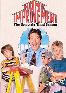 Home Improvement The Complete Third Season DVD 2005 3 Disc Set
