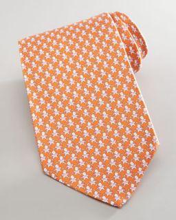 Salvatore Ferragamo Pre Tied Silk Bow Tie