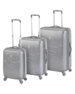 H59RF Heys Silver Eco Leaves Three Piece Luggage Set
