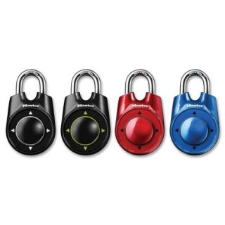 Master Lock Speed Dial Combination Lock 4 Way Directional Asst
