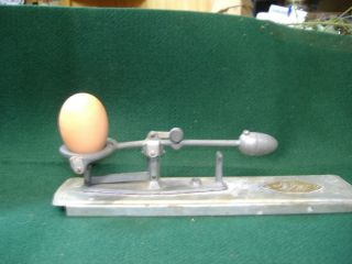 """Egg Scale """"Reliable"""" Display or Use Vintage"""